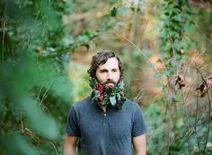 Flower Beard, a shoot by Sarah Winward & Carissa Gallo