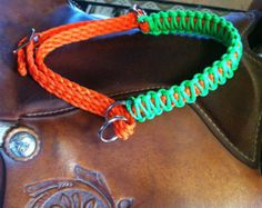 indian hackamore, paracord tack