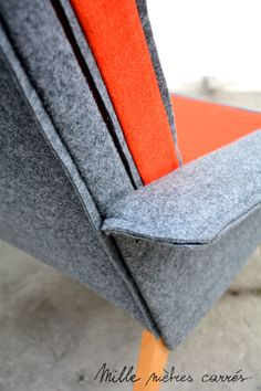 The new spring / summer collection of Thousand square meters! Orange Gris, Square Meter, Mille, Summer Collection, Continental Wallet, Spring Summer, Boutique, Champion, Chair