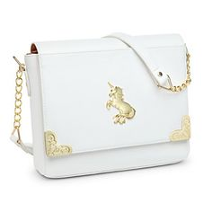 Our Magical Unicorn Ladies' Bag reminds you, as you reach for your wallet, that every day can be full of glittery goodness.