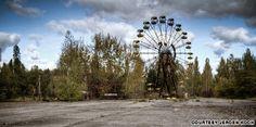 Chernobyl, Pripyat, Ukraine. Horrifying, yes, but way too interesting at the same time..