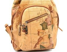 Preppy style canvas backpack for college students school bag ...