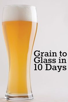 Need beer in a hurry? No need to worry, you can turn out a great brew in ten… Beer Brewing Kits, Brewing Recipes, Homebrew Recipes, Beer Recipes, Shot Recipes, Coffee Recipes, Recipies, Make Beer At Home, How To Make Beer