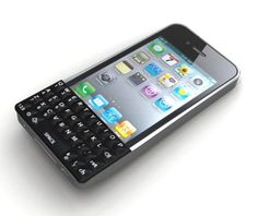 slow transition from Blackberry to iPhone...