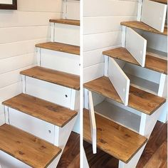 diy wood projects for home diy wood projects ; diy wood projects for beginners ; diy wood projects to sell ; diy wood projects for home ; diy wood projects for men ; diy wood projects for kids ; Diy Wood Projects, Home Projects, Easy Woodworking Projects, Beach House Decor, Diy Home Decor, Stair Storage, Diy Storage, Stairs With Storage, Stair Drawers