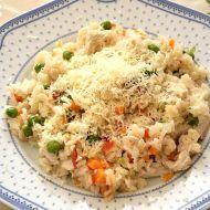 Zeleninové rizoto s kuřecím masem po česku recept - Vareni.cz Fried Rice, Risotto, Potato Salad, Fries, Healthy Recipes, Healthy Food, Menu, Potatoes, Ethnic Recipes