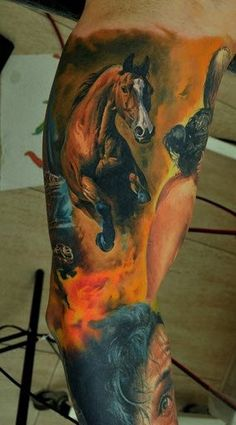 An-incredibly-realistic-horse-tattoo-by-Dmitriy-Samohin-beautiful-body-art-to-be-proud-of.jpg (284×512)