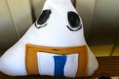 Castiel Riceball Sushi Plush Onigiri by NekoMushroom on Etsy