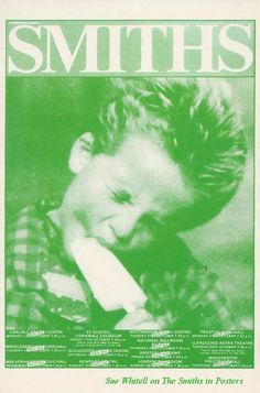 Tour postcard Mike Joyce, The Smiths Morrissey, Johnny Marr, Music Flyer, Poster Boys, Britpop, Rock Posters, Make You Cry, Dorm Ideas