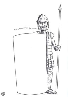 roman soldier - for mosaic craft Finish The Drawing Worksheets, Drawing For Kids, Art For Kids, Plot Diagram, Doodle Pages, Roman Soldiers, Hidden Pictures, Mandala Coloring Pages, Mosaic Crafts