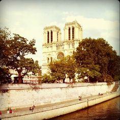 Notre-Dame Cathedral in Paris - Midnight in Paris trip