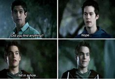 """""""Parasomnia"""" - Scott, Stiles and Liam Teen Wolf Stydia, Teen Wolf Mtv, Teen Wolf Funny, Dylan O Brain, Quiet Quotes, Teen Wolf Quotes, Mtv Shows, Dylan Sprayberry, Clowning Around"""