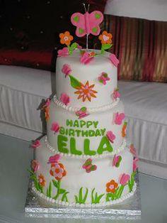 butterfly cake idea
