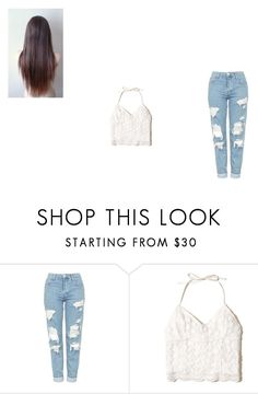 """Untitled #100"" by lilymadoxx on Polyvore featuring Topshop and Hollister Co."