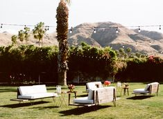 Lounge furniture // Parker, Palm Springs // COJ Events // Eric Kelley Photography