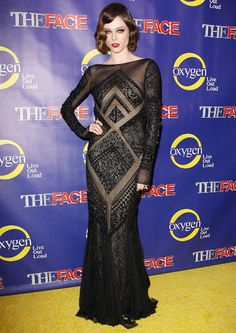 coco rocha style | Coco Rocha Brings Classic Glamour To The Face Premiere » Real Style ...