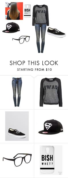 """""""1"""" by bvb-bvb ❤ liked on Polyvore featuring Anine Bing, ONLY, Vans, Larke, women's clothing, women, female, woman, misses and juniors"""