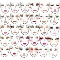 MAC Cosmetic looks. photo 1
