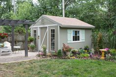Building a Garden Shed: The Final Touches