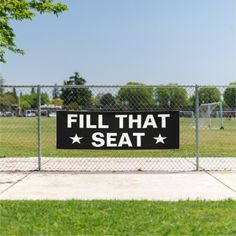 Fill That Seat Banner