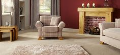 Linea Laine Chair Patterned