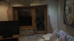 Starting to come together ...plastering done