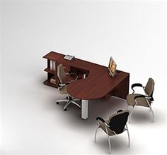 Modular Workstation from the Global Total Office Zira Collection #ModularFurniture