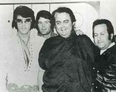 Elvis, Jerry Schilling, Lamar Fike, Joe Esposito