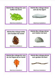Mariaslekrum - Uppdragskort Nature Activities, Outdoor Activities, Activities For Kids, Math For Kids, Diy For Kids, Crafts For Kids, Preschool At Home, Preschool Games, Sign Language Book