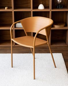 Happy to introduce Brace armchair designed for @mitabdesign - Brace is a simplistic take on the traditional steel tube chair composed of a superlight frame of tubular steel and generously curved seat and backrest of thin laminated veneer. Made for outstanding comfort and visual lightness. Available now in a selection of curated colour ways as well as 200 optional colours on request. ... #jwda #jonaswagell #mitab #brace #armchair #newwork #productrelease #furnituredesign #swedishdesign… Swedish Design, Tubular Steel, Armchair, Furniture Design, Tube, Colours, Traditional, Frame, Happy