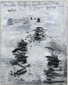 Anselm Kiefer - hortus philosophorum Poster - Gagosian Gallery