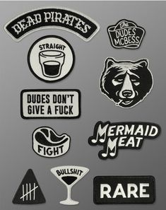 The Dudes – Mcbess – Patch Set