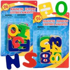 Bulk Magnetic Wooden Letter and Number Sets, 26-ct. Packs at DollarTree.com