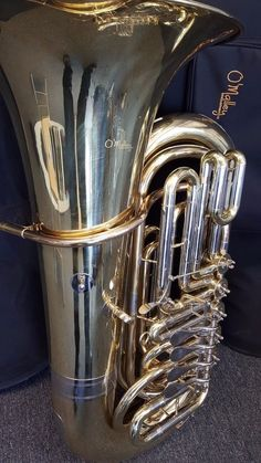 4/4 (4+1) Gold Lacqer Pro Tuba BBb Awesome Tuba Great for Orchestra/Brass Band #OMalley