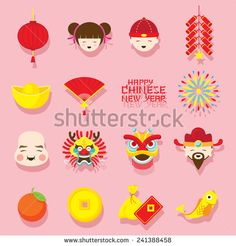 Chinese New Year Money Vector Stock Photos, Images, & Pictures Dance Nails, Chinese Lion Dance, New Years Nail Art, Teaching Money, Money Tattoo, Money Pictures, Red Packet, Chinese Patterns, Chinese Typography