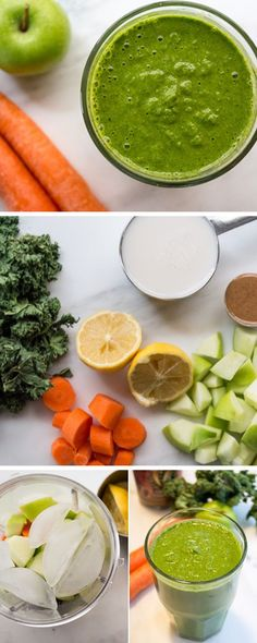 Detox Green Smoothie | Click Pic for 18 Healthy Green Smoothies to Lose Weight | Easy Green Smoothie Recipes for Detox