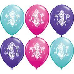"12"" Disney Frozen Balloons (6ct)"