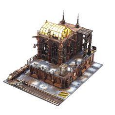Warhammer Terrain, 40k Terrain, Wargaming Terrain, Warhammer Games, Warhammer 40k, Necromunda Gangs, City Model, Fantasy Miniatures, Tabletop Games