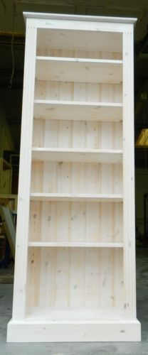 Solid Pine Bookcase 6ft Tall X 30 Wide