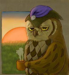 Owl Doesn't Give a Hoot - Jolene Judziewicz Portfolio