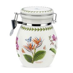 Exotic Botanic Garden Preserve Jar - NEW