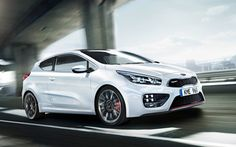 Kia Pro_cee'd GT--Korea's answer to the mighty Volkswagen GTI.