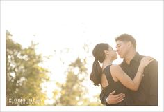 Pasadena City Hall Engagement Session by Gloria Mesa Photography #sessions #engagementsessions #dogsinsessions