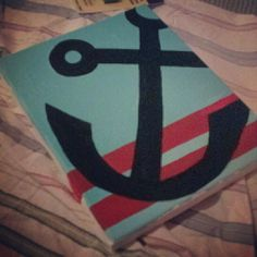 Anchor Painting. so cute!