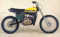 Twin carbureted Puch, Harry Everts Replica.