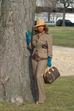 How I Wore a Tweed Suit Glam Style http://understandtheglam.tumblr.com/