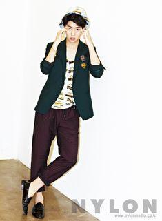 Korean Magazine Lovers — B1A4 Baro - Nylon Magazine June Issue '14