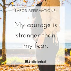 Labor affirmations are empowering statements or words of encouragement to help women during their labor experience. Free printable labor affirmations.