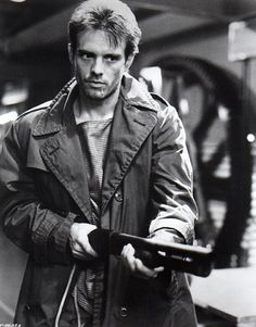 Michael Biehn, Kyle Reese in The Terminator...I MET HIM ON SATURDAY! Such a nice guy. :D