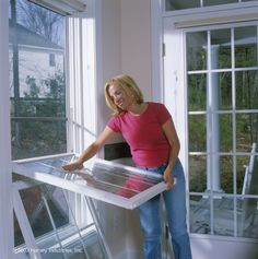 Harvey Classic vinyl double hung windows offer the widest variety of style, performance, color and options. They are custom built to match your home's appearance.